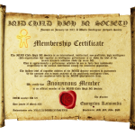 New IQID Membership Certificate